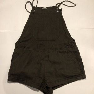 Garage Overall Shorts